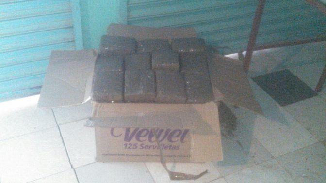 Aseguran militares 266 kilogramos y medio de marihuana en Juchipila