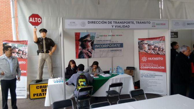 600 plazas ofertada en la jornada del empleo de seguridad pública